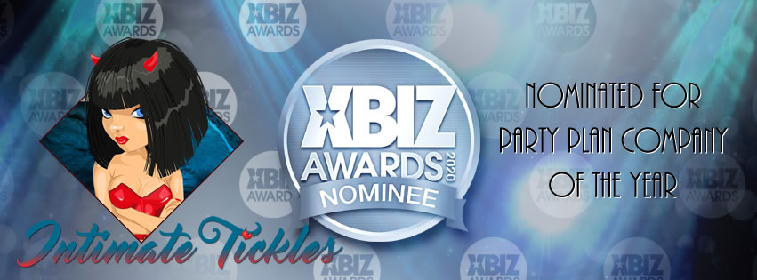 Intimate Tickles LLC Stoked To Receive 2020 XBIZ Party Plan Company Awards Nomination